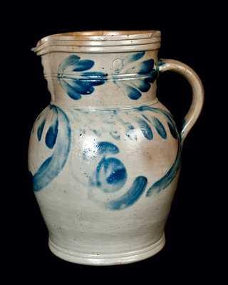 Pennsylvania Stoneware Pitcher, One-Gallon