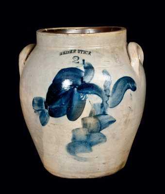 WHITES UTICA 2 Gal. Ovoid Stoneware Jar