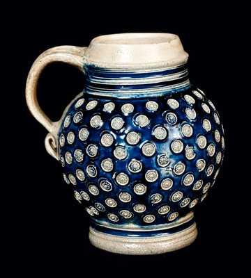 Small Bulbous Westerwald Stoneware Mug