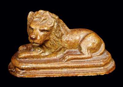 Ohio Sewertile Lion Figure