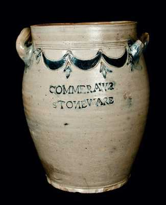 COMMERAWS STONEWARE CORLEARS HOOK N. YORK Jar