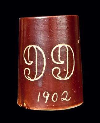 Small 1902 YALE Stoneware Mug
