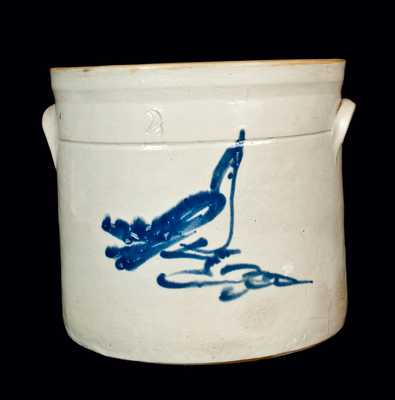 Fulper, Flemington, NJ Stoneware Bird Crock