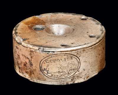 C. Crolius Manhattan Stoneware Inkwell