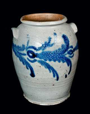 Stoneware Crock, Baltimore, MD circa 1825