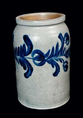 Ovoid Stoneware Crock, Baltimore circa 1825