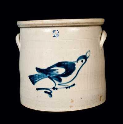 Fulper (Flemington, NJ) Stoneware Bird Crock