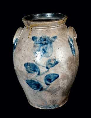 Ovoid Stoneware Jar Impressed T. REED (Tuscawaras County, OH)
