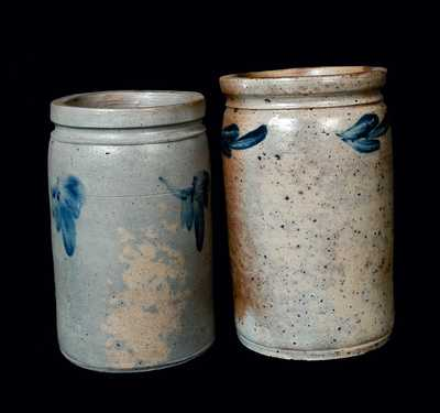 Lot of Two: Baltimore Stoneware Crocks