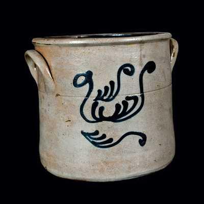 One-Gallon New Jersey Stoneware Crock