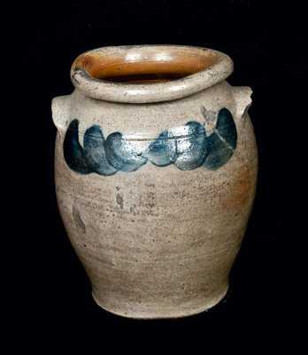 Shenandoah Valley Stoneware Jar, John and James Miller, Strasburg, VA