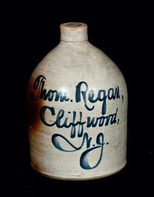 Cliffwood, NJ Stoneware Advertising Jug