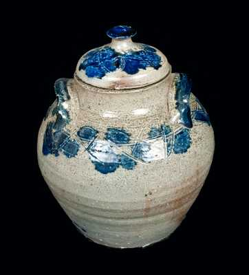 Seagrove, North Carolina Stoneware Jar with Lid, first quarter 20th century