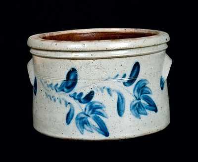D. P. SHENFELDER / READING, PA Stoneware Cake Crock, 1 1/2 Gallon