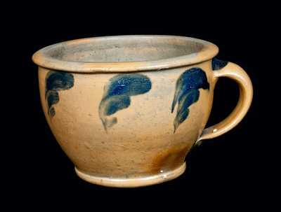 Rare Stoneware Chamber Pot attrib. J. Swank, Johnstown, PA