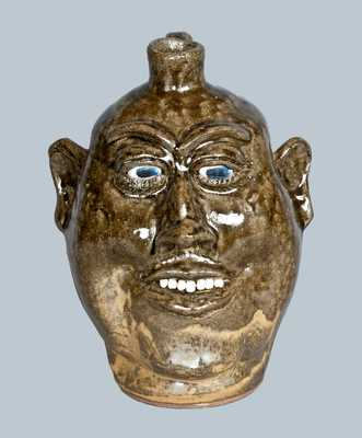 Stoneware Face Jug, Lanier Meaders, 1983
