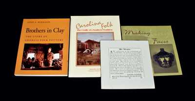 Lot of Four: Books on Southern Folk Pottery, including BROTHERS IN CLAY
