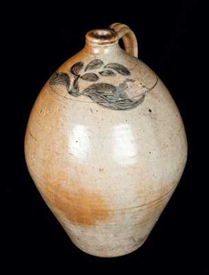 Incised Stoneware Jug attrib. Joseph Henry Remmey, South Amboy, NJ