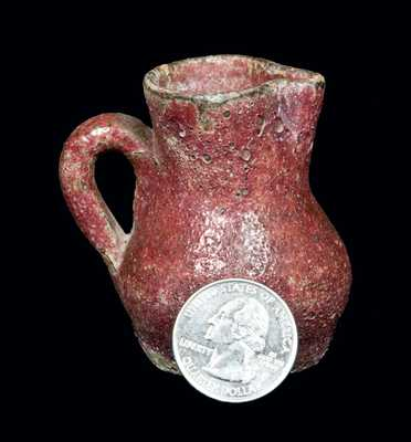 Miniature Stoneware Pitcher