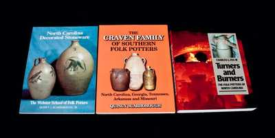 Lot of Three: Books on North Carolina Folk Pottery