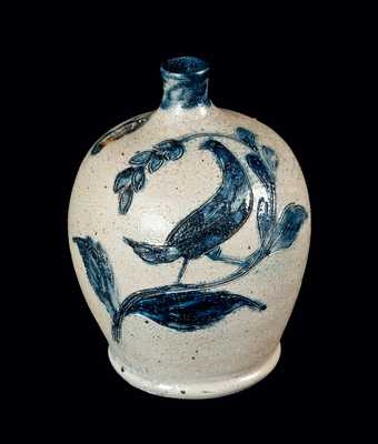 Incised Remmey Bird Bank, Dated 1874