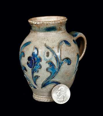 Rare Small-Sized Wingender Stoneware Ale Mug