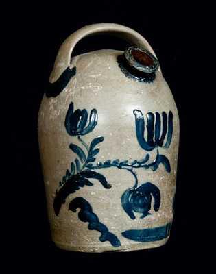 KELLY & HARR / Perryopolis / Fayette Co. / Penna Stoneware Harvest Jug
