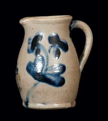Miniature Baltimore Stoneware Pitcher