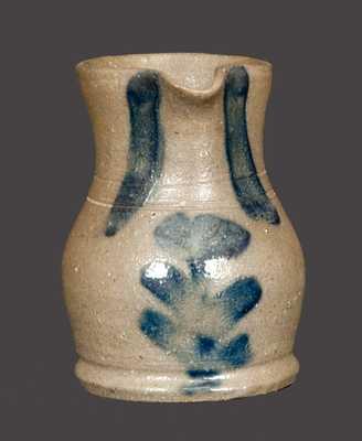 Rare Miniature Stoneware Pitcher att. C. F. Decker (Chucky Valley, TN)