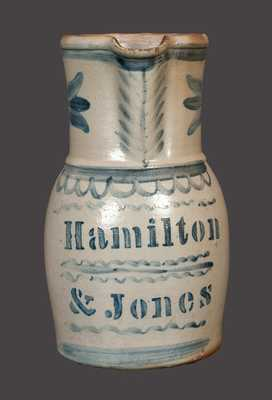 Hamilton & Jones, Greensboro, PA Stoneware Pitcher