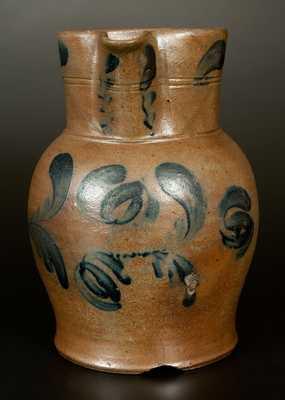 Very Rare G. & A. BLACK (Somerfield, PA) Stoneware Pitcher