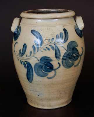Rare HAMILTON & CO. / GREENSBORO, PA 4 Gal. Ovoid Stoneware Crock