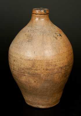 D. GOODALE / HARTFORD Stoneware Jug