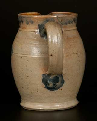 Very Rare Richard Remmey, Philadelphia, PA Stoneware Presentation Cream Pitcher