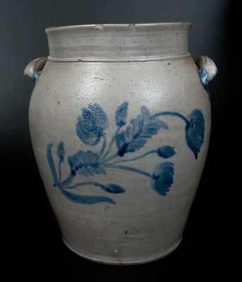 Att. Samuel Bell, Winchester, Virginia, Stoneware Crock