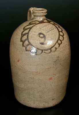 CHANDLER MAKER (Thomas Chandler, Edgefield, SC) Alkaline-Glazed Stoneware Jug