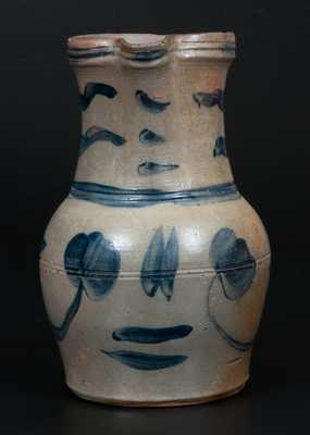 Stoneware Pitcher attrib. Boughner Family, Greensboro, PA