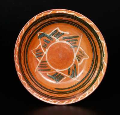 Snow Hill Nunnery Redware Bowl, attributed to John Bell, Waynesboro, PA
