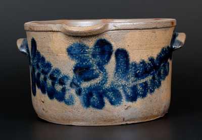 H. MYERS Baltimore Stoneware Milkpan