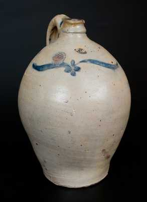 Attrib. Clarkson Crolius, Sr. Stoneware Jug with Incised Decoration