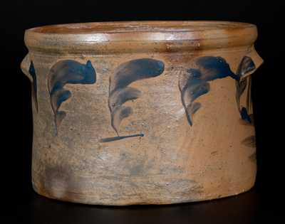 Rare J. SWANK & CO. / JOHNSTOWN, PA Stoneware Cake Crock