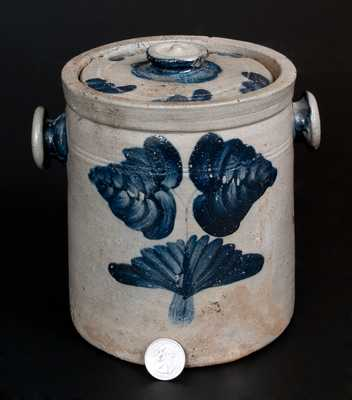 Baltimore Stoneware Tobacco Jar w/ Knob Handles