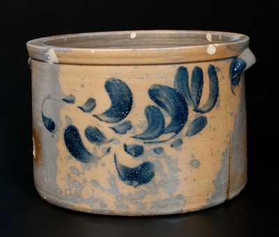 Very Rare J. SWANK / JOHNSTOWN, PA Stoneware Cake Crock Inscribed