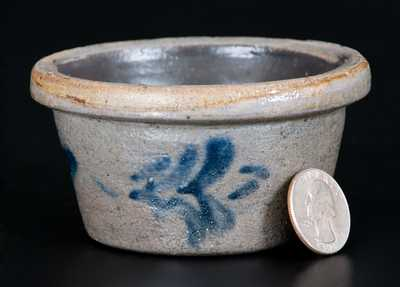 Extremely Rare Miniature Morgantown, WV Stoneware Bowl