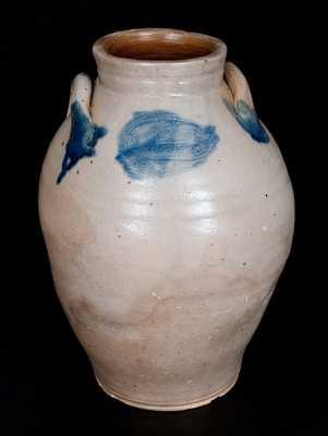 ALBANY WARE, William Capron, Albany, NY Stoneware Jar