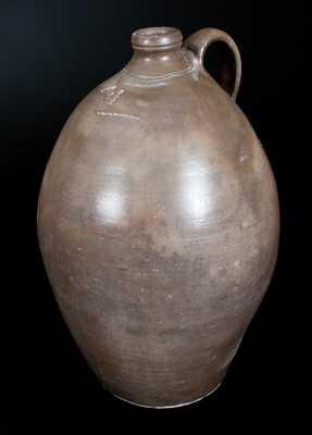 Rare N. CLARK PARKERSBURG, VA / WV  Stoneware Jug
