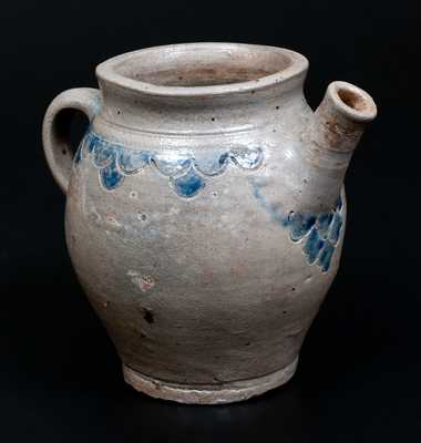Extremely Rare and Important New York City Stoneware Teapot, c1775-1800