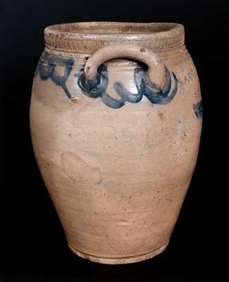 Rare WARNE & LETTs 1806 / S. AMBOY . N. JERSY Stoneware Jar
