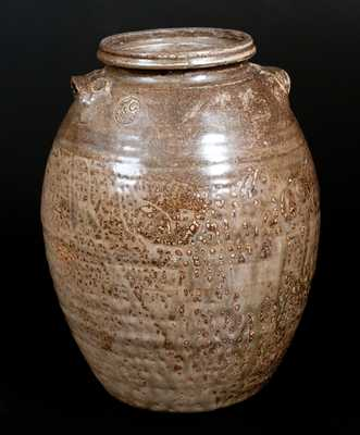 IEG (Isaac E. Gay, Buffalo, Kershaw County, SC) Alkaline-Glazed Stoneware Jar