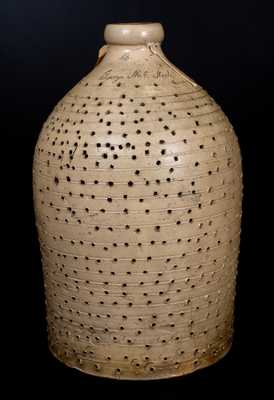 Very Rare Stoneware Leach Jug Inscribed